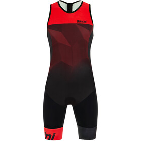 Santini Imago SL Trisuit Men, red